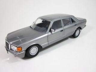 Mercedes Benz 560 SEL W126 V126 dark grey dunkelgrau 1 18 NOREV