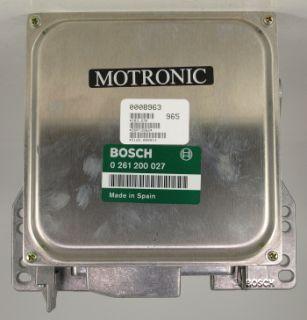 Motorsteuergeraet 12141286047 BMW Serie 3 5 E30 E28 Bosch 0261200027