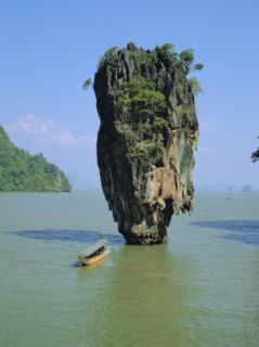 Ao Phang Nga, Ko Tapu (James Bond Island), Thailand, Asia Photographic Print by Bruno Morandi