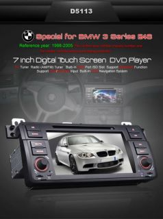 NOVITA EONON 2012! AUTORADIO GPS D5113 7BMW E46 AVI DIVX BT IPOD MP3