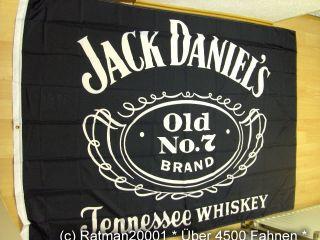 Fahnen Flagge Jack Daniels   140 x 200 cm