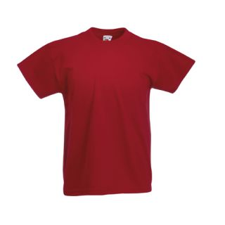 Kinder T Shirt Valuew Shirt Fruit of the Loom 104   164