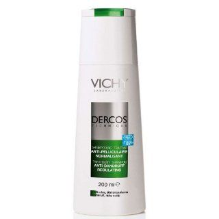 Vichy Dercos Anti Dandruff Shampoo for Normal to Greasy Hair 200ml