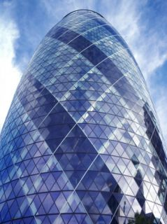 30 St Mary Axe Is a Building in Londons Main Financial District Photographic Print by Eightfish