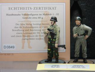 Deutsche Soldaten des II Weltkriegs 143 Lt 50 Inf Div Krim Hptm StuG