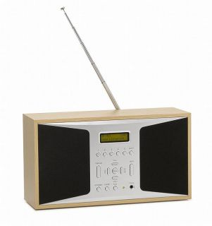 DENVER DAB 26PLUS DAB+, DAB & IKW Radio Digital, Holz   TOP B Ware