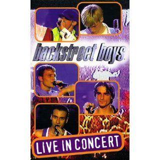Backstreet Boys   Live in Concert [VHS] Backstreet Boys