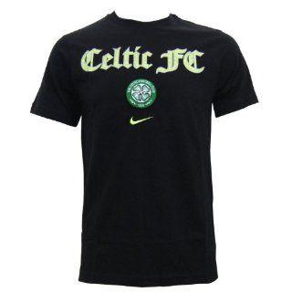 Nike Celtic Glasgow T Shirt GRAPHIC TEE 347346 010 schwarz