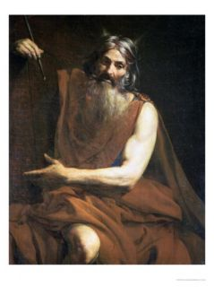 Moses with the Tablets of the Law, circa 1627 32 Giclee Print by Valentin de Boulogne