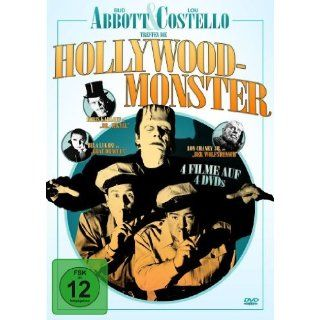 Bud Abbott & Lou Costello treffen die Hollywood Monster 4 DVDs: