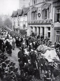 Queen Victorias Funeral Procession at Windsor, 1901 Photographic Print