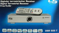 DVB T Digital Receiver SCHWAIGER DSR 505 T OVP