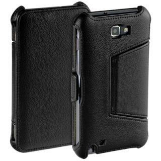 Premium Flip Style Case f Samsung Galaxy Note N7000 i9220 Tasche Etui