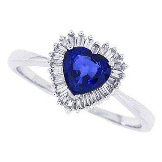 Ring mit Diamanten, 0,86 ct, in 14 kt Weißgold 49 Schmuck