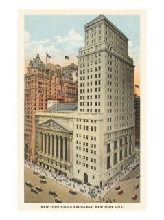 New York Stock Exchange, New York City Giclee Print