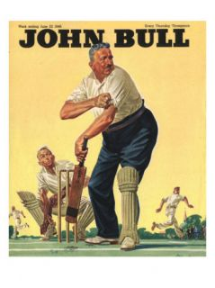 John Bull, Cricket Magazine, UK, 1946 Posters