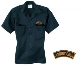 149W Workershirt Rock N Roll Blues Country Johnny Cash