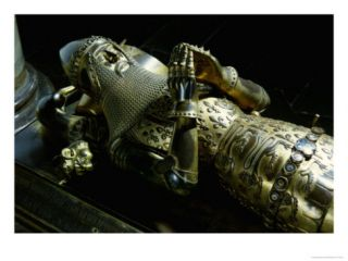Effigy of Edward the Black Prince Giclee Print