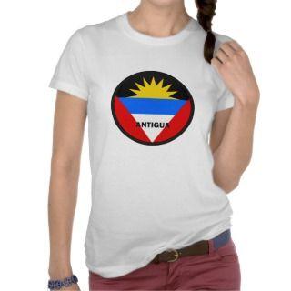 Antigua Roundel quality Flag Shirt