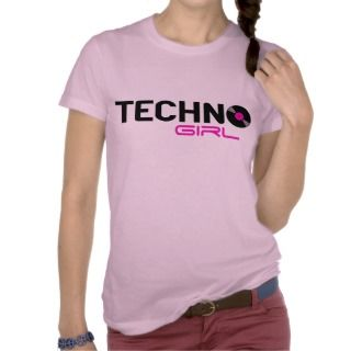 Techno Girl Tee Shirt