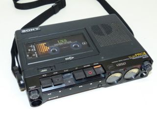 TC D5 Pro2 PRO II Portable Cassette Recorder Professional Reporter 159