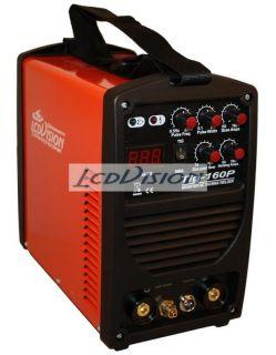 TIG 160 Puls WIG + E Hand Inverter Schweißgerät 230V