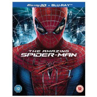 The Amazing Spider Man + Blu ray Blu ray 3D UK Import