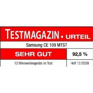 Samsung CE109MTST/XEG Mikrowelle mit Grill ßluft / 900W / Grill