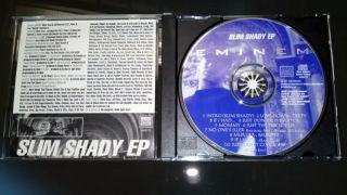 Eminem SLIM SHADY EP G Funk G Rap CD Infinite Bassmint Dr. Dre