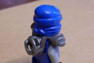 Lego Ninjago   Ninja   Jay ZX Figur Samurai m. Schwerthalterung blau