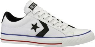 Converse Star Player Ev Ox Lo Canvas Trainer White Blac