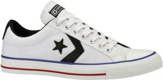 Converse Star Player Ev Ox Lo Canvas Trainer White Blac