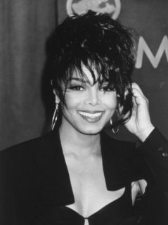Portrait of Singer Janet Jackson Premium Photographic Print by Kevin Winter