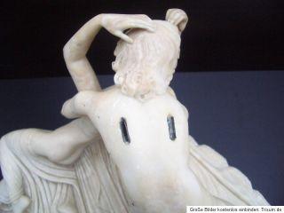 Skulptur Amor u. Psyche Canova Italien Louvre Paris Cupid Alabaster