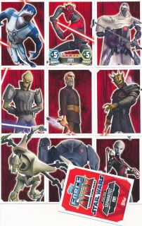 Nr.175 183 * Clone Wars Serie 3   Force Attax Star Wars   Strike Force