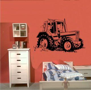 Wandtattoo Wandsticker 180 Traktor Truck Bulldog