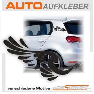 E13 Flügel Engelsflügel Sticker Auto Aufkleber Amor