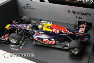 Minichamps 118 Red Bull Racing Renault RB7 F1 2011 Race Car (Mark