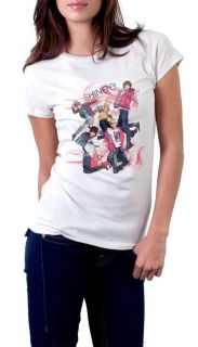 SHINee T Shirt New Hoodie KPOP Korean Band White Women Tee Shirt Size