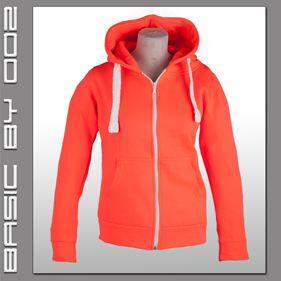 Unisex Zipp Hoodie Kapuzenpullover Sweat Shirt Jacke Kapuze Hoody