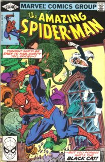 the Amazing Spider Man Comic Book #204, 1980 VERY FINE