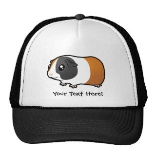 Cartoon Guinea Pig (smooth hair) Trucker Hat