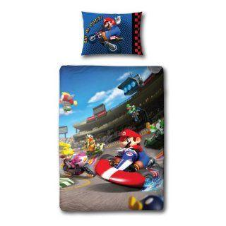 Super Mario Decke Riesen Überwurf XXL Tagesdecke 157 x
