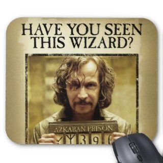 Sirius Black Waned Poser Mousepads