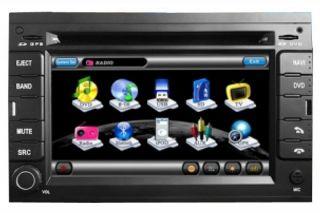 Peugeot 207 307 2Din Touchscreen Autoradio Navigation GPS DVD  DVBT