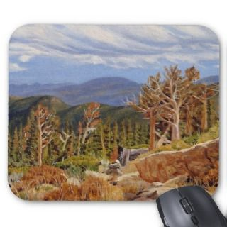 Guanella Pass Oil Landscape Painting Mouse Pad