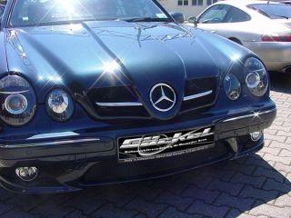 Front Spoiler Stoßstange AMG Look Mercedes CLK w208 9