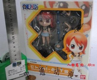 One Piece Manga Anime NAMI MINI Q Figuren Figur Set H10cm 198