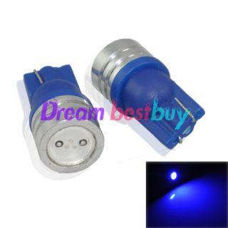 T10 car Blue SMD high power 1.5W LED Bulbs 194 168