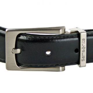 Accessories Gürtel Leder 125 cm, schwarz Bekleidung